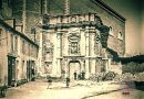 De ingang van het Seminarie in Sint-Truiden