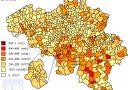 De coronacijfers (14/05/2021) van België +2.850, Sint-Truiden +5, Borgloon +4, Gingelom +2, Heers +0, Tongeren +2, Nieuwerkerken (Limburg) +0, Hasselt +5 en de Provincie Limburg +195