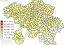 De coronacijfers (23/06/2021) van België +391, Sint-Truiden +0, Borgloon +0, Gingelom +0, Heers +0, Tongeren +0, Nieuwerkerken (Limburg) +0, Hasselt +1 en de Provincie Limburg +22