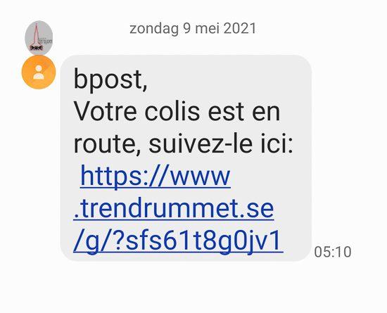 Valse sms'en circuleren uit naam van bpost.