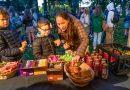 Sint-Truiden trakteert 1.500 jeugdbewegingsleden op een gezellig ontbijt in het stadspark.
